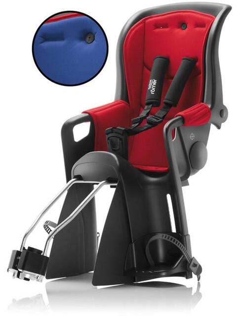 Britax Römer Jockey Relax Kindersitz mit 2 Bezügen rot/blau